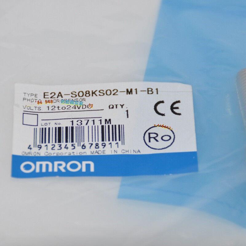 1pc Omron E2A-S08KS02-M1-B1 Proximity Sensor 12-24VDC NEW