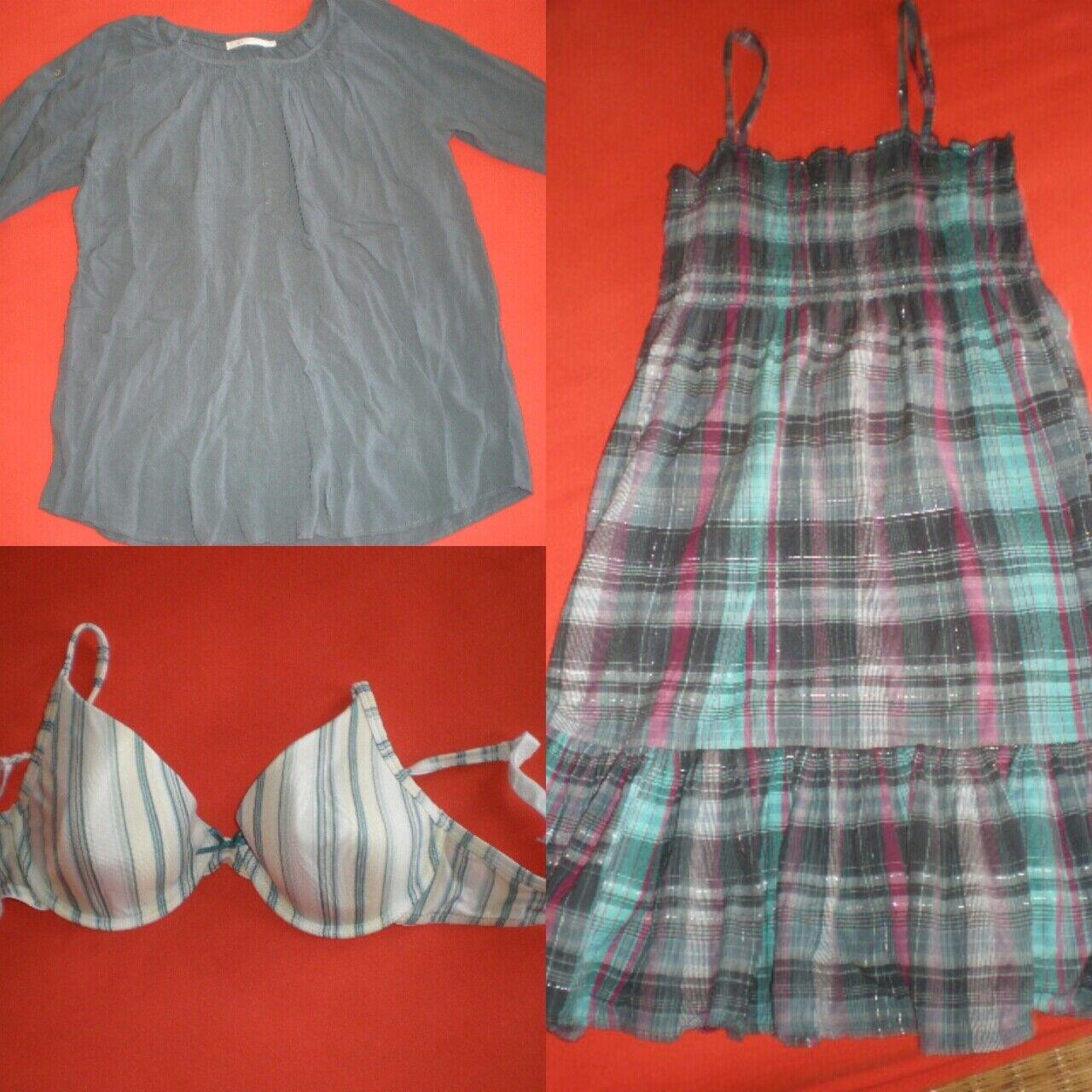 Gr. 36: Tunika + Kleid + BH Gr. 70C super für Schwangerschaft