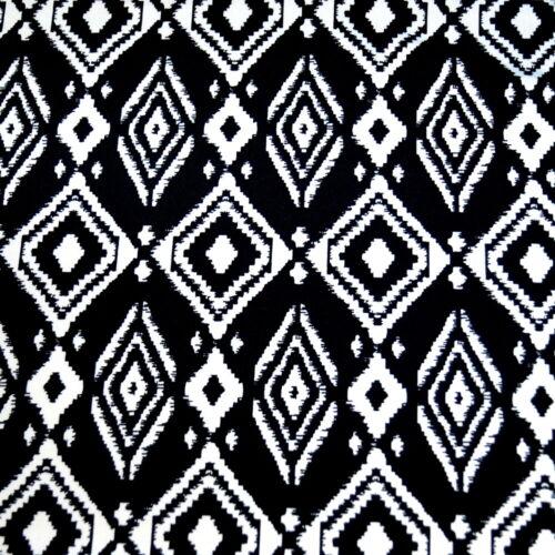 Toucher Doux Jersey Tricot Stretch Robe tissu DTY Floral Fleurs largeur 148 cm