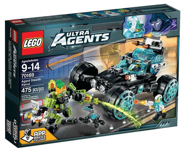 LEGO ® ULTRA AGENTS  70169 agente STEALTH PATROL NUOVO OVP nuovo MISB NRFB  grandi prezzi scontati