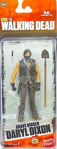 "Gravedigger Daryl Dixon 5"" /12cm Actionfigur The Walking Dead Mcfarlane Toys Schmerzen Haben Figuren"