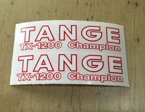 Tange TX-1200 Champion Fourche Autocollants 1 paire de TX-1200 Champion Fork decals