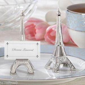 4 Marque place Tour Eiffel Thème Paris Décoration Mariage / Bapteme ...
