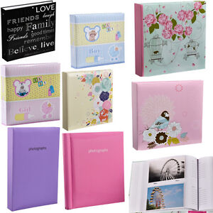 Slip In Photo Albumself Adhesive Album 500200300 Holds For 6x4