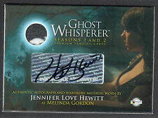 GHOST WHISPERER 1 & 2 AUTOGRAPH WARDROBE CARD #GAC-1 JENNIFER LOVE HEWITT (GA-1)