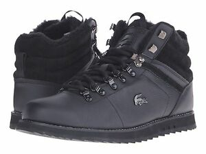 Data wydania: Najlepiej Nowa lista Details about NWT LACOSTE JARMUND PUT SNEAKERS MENS SHOES LEATHER BLACK  BOOTS SIZE 7 - 11.5