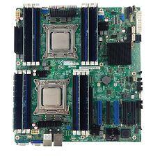 Intel S2600CP2J Motherboard Dual 2011 Socket 2 x E5-2665 SR0L1 CPU 128GB RAM