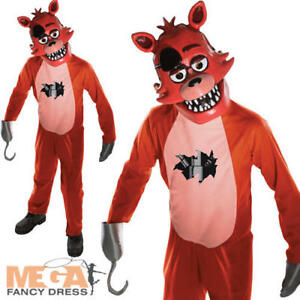 Foxy Boys Fancy Dress Five Nights At Freddy S Childrens Kids
