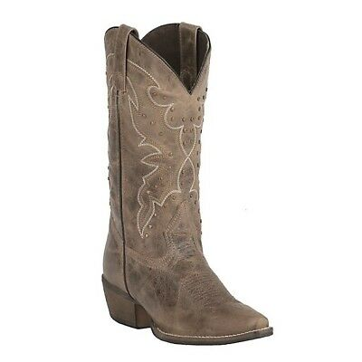 Rawhide by Abilene Ladies Earth Brown with Studs Boots 5029