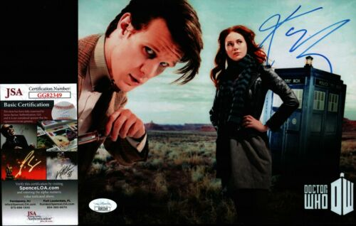 Doctor Who 8x10 Photo JSA Certified COA Signed Autographed by Karen Gillan
