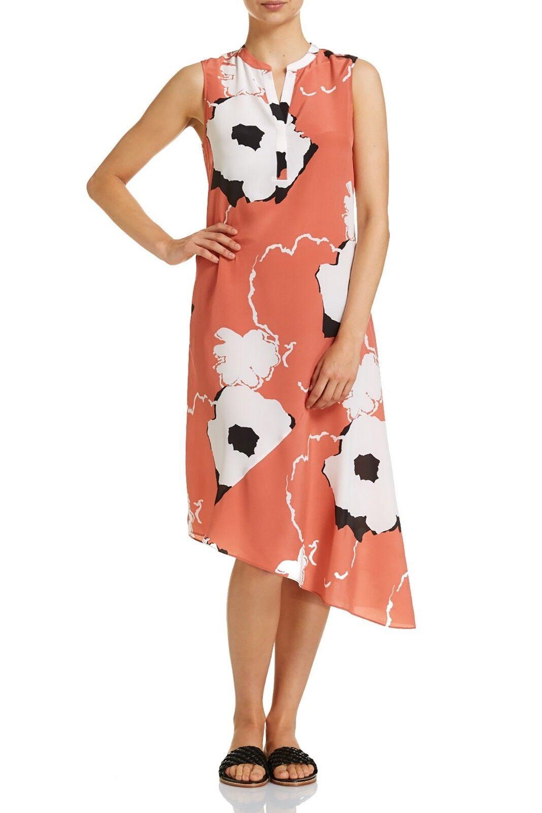 SPORTSCRAFT   pinkwood  100% Silk dress last season 10 BNWT  289.99