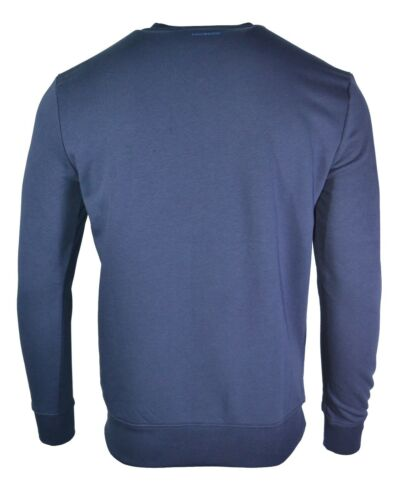65/% OFFBIKKEMBERGS SWEATSHIRT CHEVRON LOGO TOP BLUE C600201M3809Y91 RARE