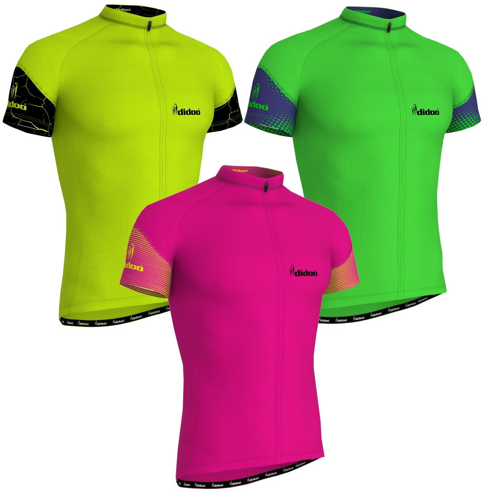 1d3ea0a85 Details about New Men s Half Sleeve Cycling Jerseys Riding T-Shirts Sports  Road Racing Tops