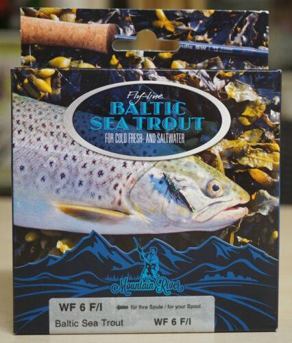 Baltic Sea Trout WF 6 F//I lange intermediate Spitze /& Cold Water Coating 16 Gr.