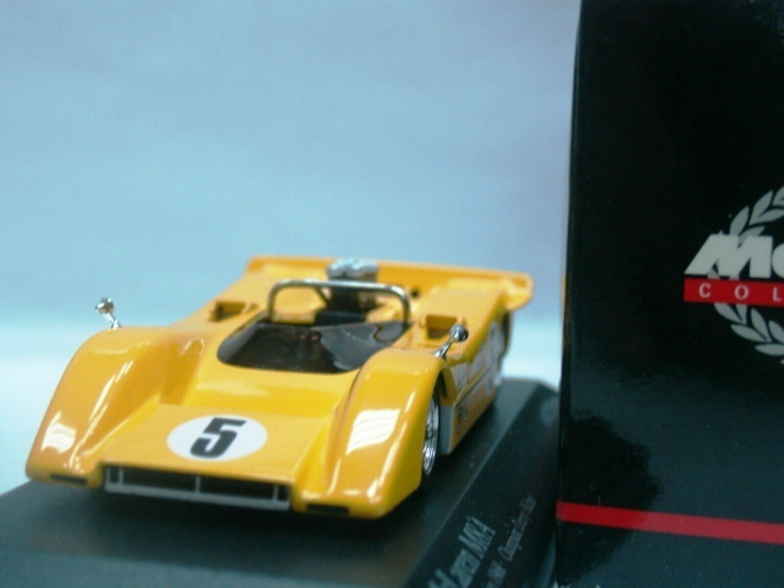 WOW EXTREMELY RARE McLaren M8A Hulme Champion Can-Am 1968 1 43 Minichamps