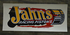 ORIGINAL VINTAGE JAHNS DECAL HOT ROD DRAG RACING SCTA NHRA AUTO RACE CAR GASSER