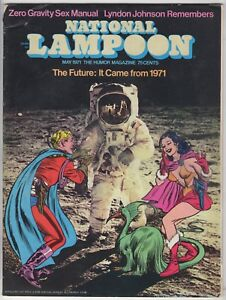 National-Lampoon-039-The-Future-It-Came-from-1971-039-May-1971-Issue-FN