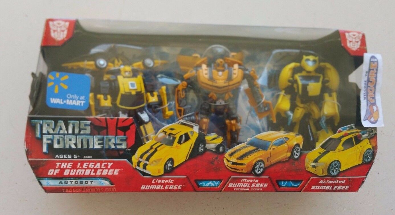 TransFormers Movie The Legacy Of BUMBLEBEE cifra pack, 3x Bumblebees, nuovo