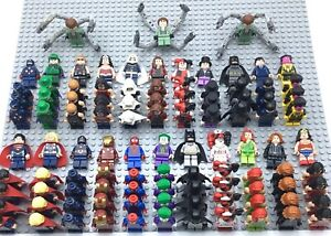 LEGO-SUPER-HERO-MINIFIGURES-AUTHENTIC-MARVEL-DC-SUPERHEROES-MANY-RARES-YOU-PICK