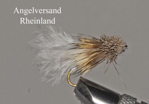 3 Marabu-Muddler natural-weiss #8 oder #10 wählbar by Angelversand Rheinland