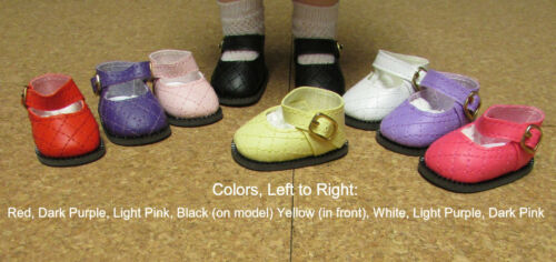 "others Doll Shoes 13/"" Patsy 54mm DARK PINK Diamond Design Shoes P91 Toni"