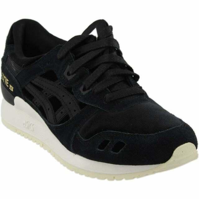 ASICS GEL Lyte III Sneakers Casual Cross Training Sneakers Black Womens Size