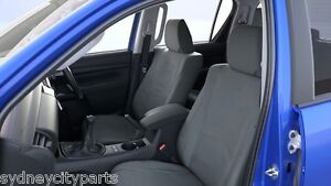 Details about TOYOTA HILUX SEAT COVERS CANVAS REAR DUAL CAB FROM JULY 15>  VIN REQUIRED