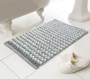 Luxe Helena Bath Mat Super Soft Deep Pile Bathmat Bathroom Mat 50 X 80 Cm Ebay