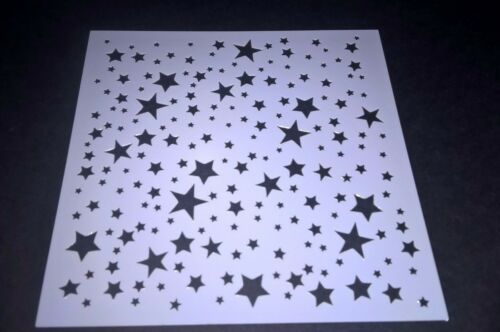 Stars Stencil Scrapbooking Card Making Ink Inking Painting Home Decor Craft Art