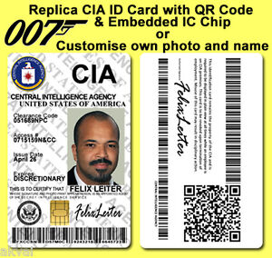 Felix-Leiter-CIA-Casino-Royale-inspired-PVC-ID-Card-with-PHYSICAL-4428-IC-CHIP