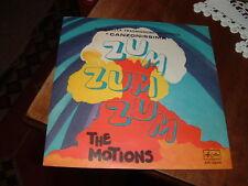 """THE MOTIONS """" ZUM ZUM ZUM - DONNA ROSA """" SIGLE TV ITALY'68"""