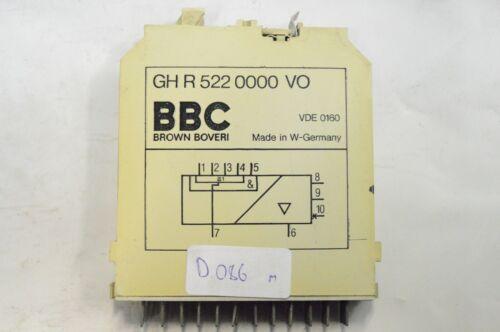 D086m BBC Modul GH R 522 2000 VO