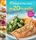 Weight Watchers in 20 Minutes 250 Fresh Fast Recipes Book HB 0470287454 BAZ