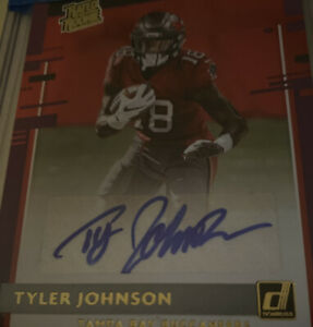 Tom Brady & Tyler Johnson AUTO Rated Rookie & Select 2020 Tampa Bay Bucs Champs