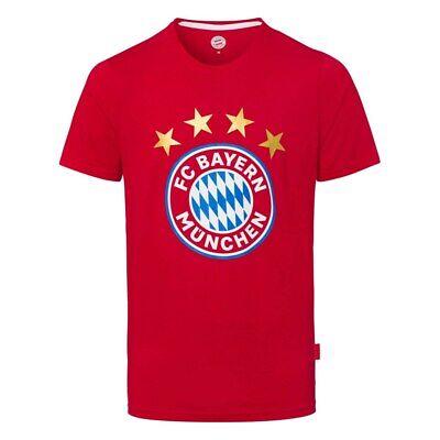 Liberale T-shirt Bayern Monaco Ufficiale Originale Rossa Fc Bayern Munchen Adulto Bambino Acquista Sempre Bene