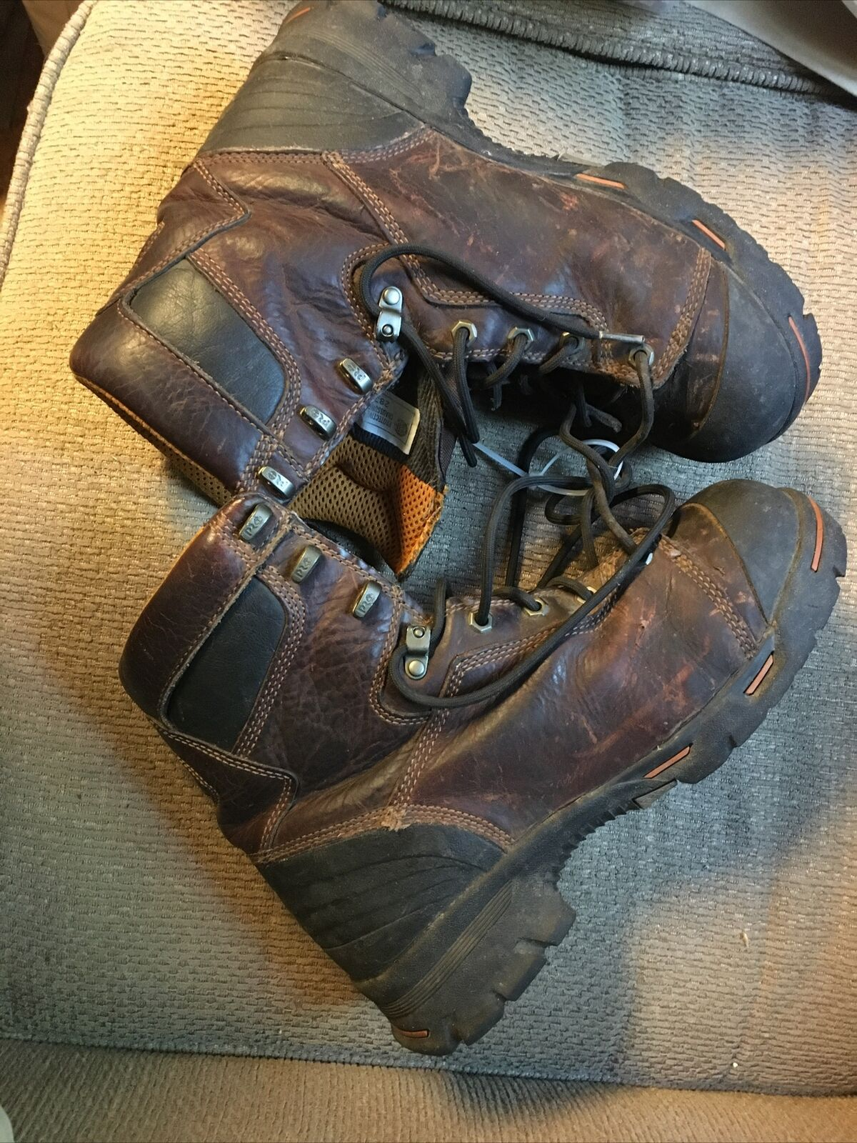 "Timberland PRO Endurance Men's 9.5M Steel Toe CSA 8"" High Work Boot 52561"