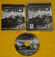 RACEDRIVER GRID Ps3 Versione Italiana 1ª Edizione Race Drive »»»»» COMPLETO