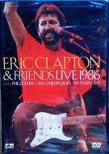 ERIC CLAPTON & FRIENDS LIVE 1986 - DVD - PHIL COLLINS - STILL SEALED