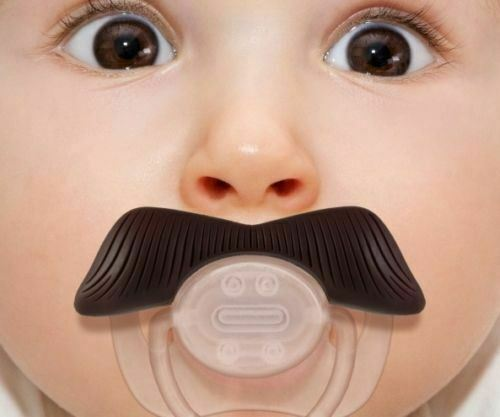 Funny Dummy Dummies Pacifiers Baby Novelty Joke Maternity Toddler Child NEW UK