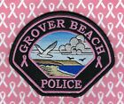 Grover Beach Police Department Breast Cancer Awareness Patch ~ California