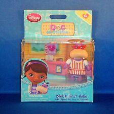 Disney Store - Doc McStuffins - Blink & Twist Hallie the Hippo Figure - NEW