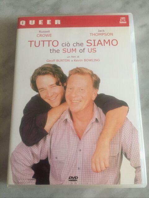"""DVD """"TUTTO CIO CHE SIAMO"""" Come Nuovo Russel Crowe RARO DOLMEN QUEER ITALIA"""