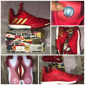 adidas Marvel's Iron Man Harden Vol 3 Shoes Unboxing!