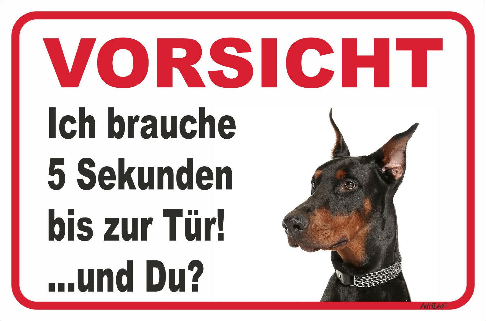 20x30cm Vorsicht Bissiger Hund Achtung Aufkleber Schild Garten Gartentür T 15