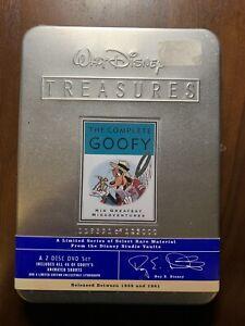Walt-Disney-Treasures-The-Complete-Goofy-DVD-2002-2-Disc-Set-Collectable-Tin