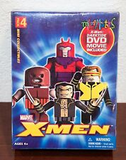 2005 MARVEL LEGO X-MEN MINI-MATES w/ DVD MOVIE PACK 4 FIGURES MIP