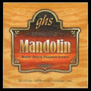 GHS Professional Mandolin Strings Set PF270 Medium  (Bright Bronze)