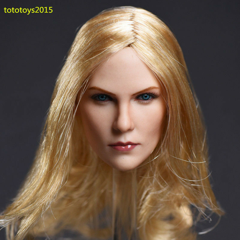 ZC Toys 1 6 Scale Charlize Theron Blond Hair Hair Hair Head Model Fit Woman Figure Body 2b1860