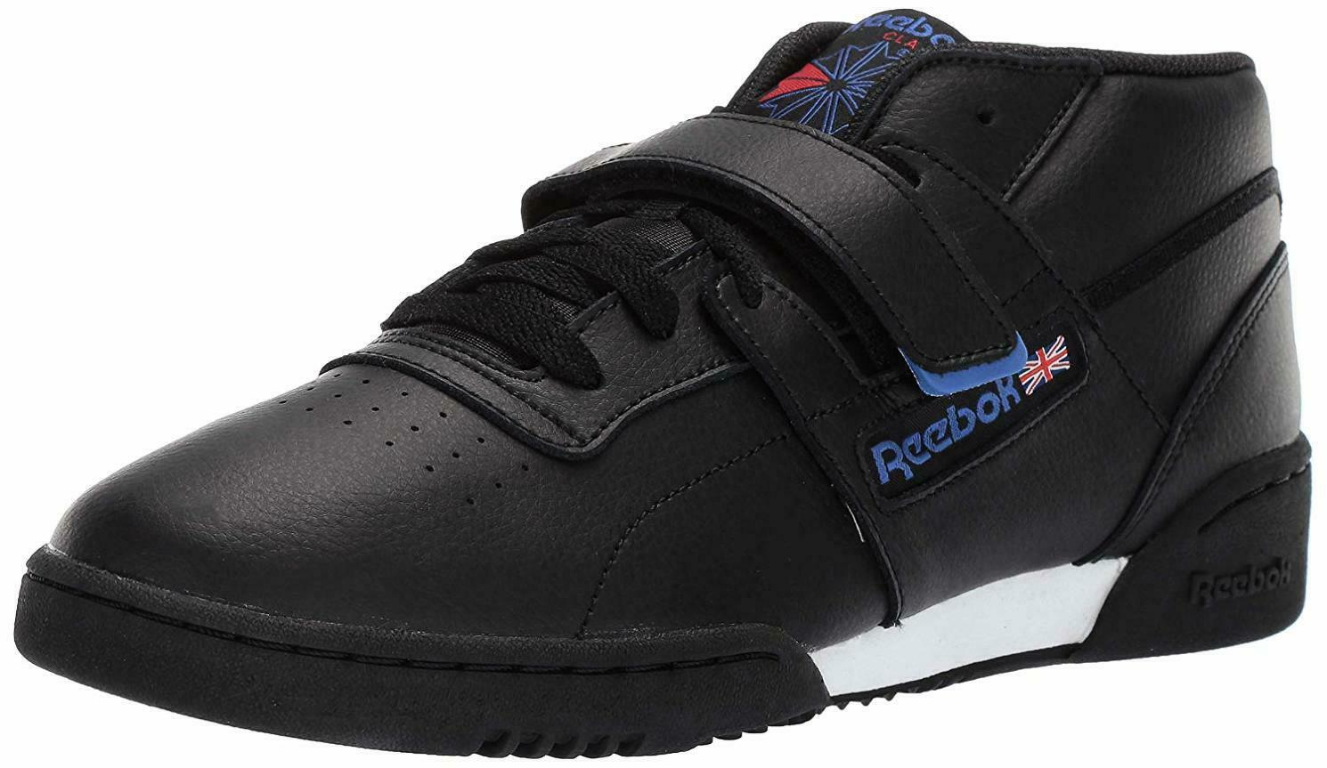 Homme Reebok workout Clean Mid Strap-Choisir Taille couleur