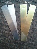 2 Brass Electrodes & 2 Titanium Electrodes